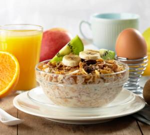Правильный завтрак для тех, кто занимается фитнесом